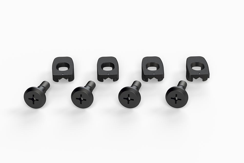 Ronix 2015 Brainframe M6 Mounting Hardware Set of 4 Black